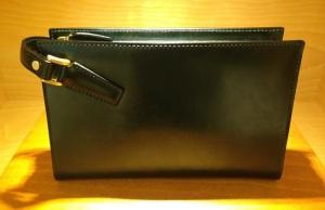 ココマイスター「ブライドル セカンドバッグ」