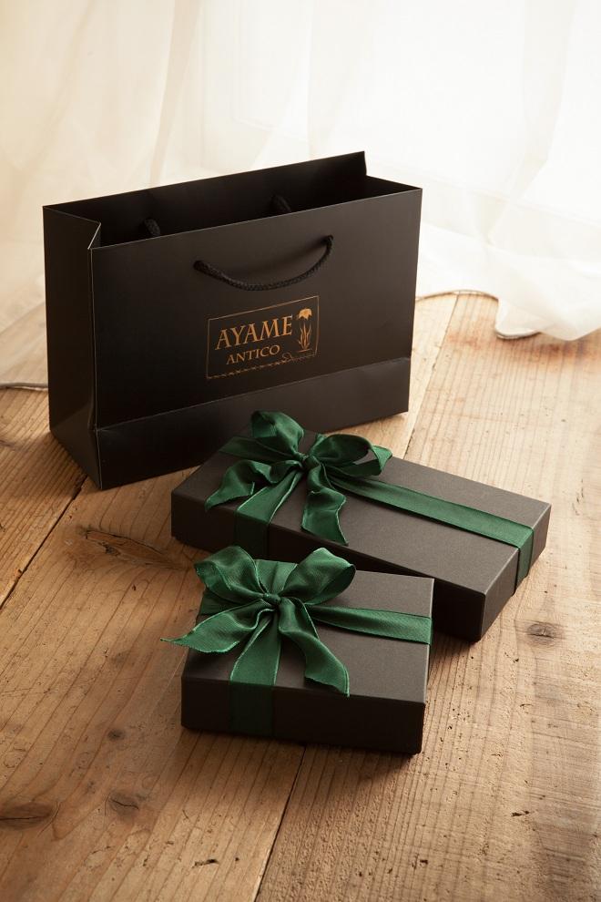 アヤメアンティーコの贈答用包装