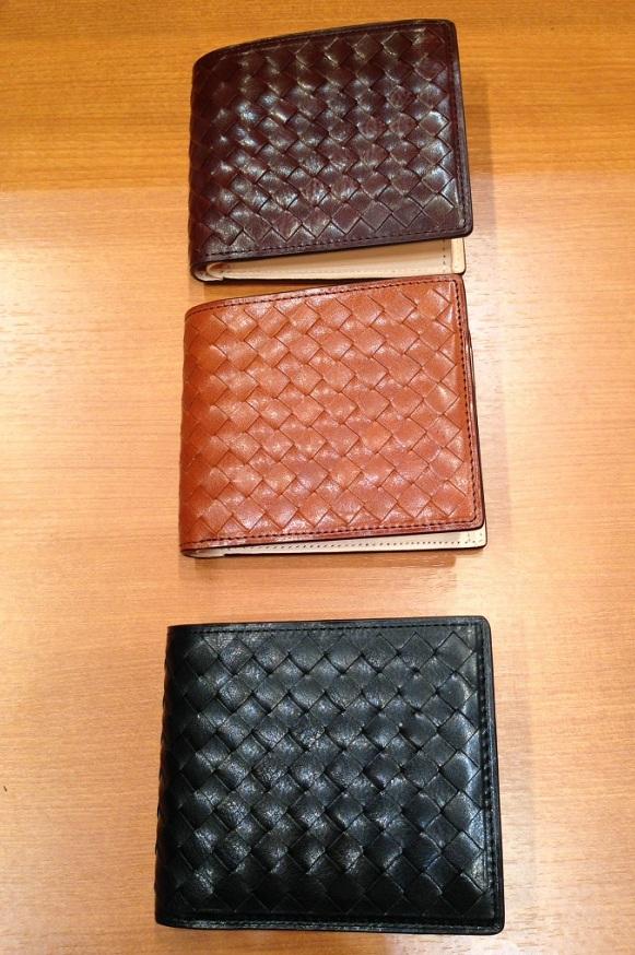 ココマイスターの二つ折財布「マットーネ オリヴェートパース」