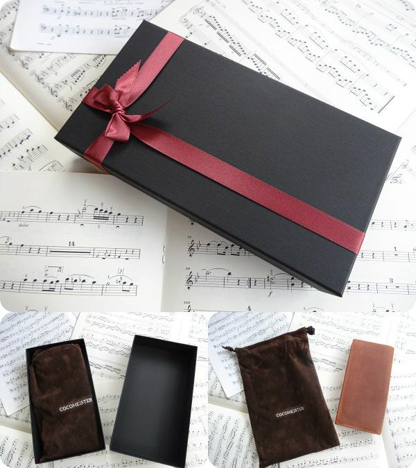 ココマイスター・プレゼント用の包装