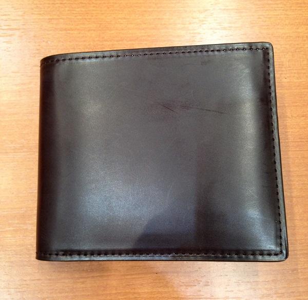 ココマイスター・コードバン 2つ折り財布