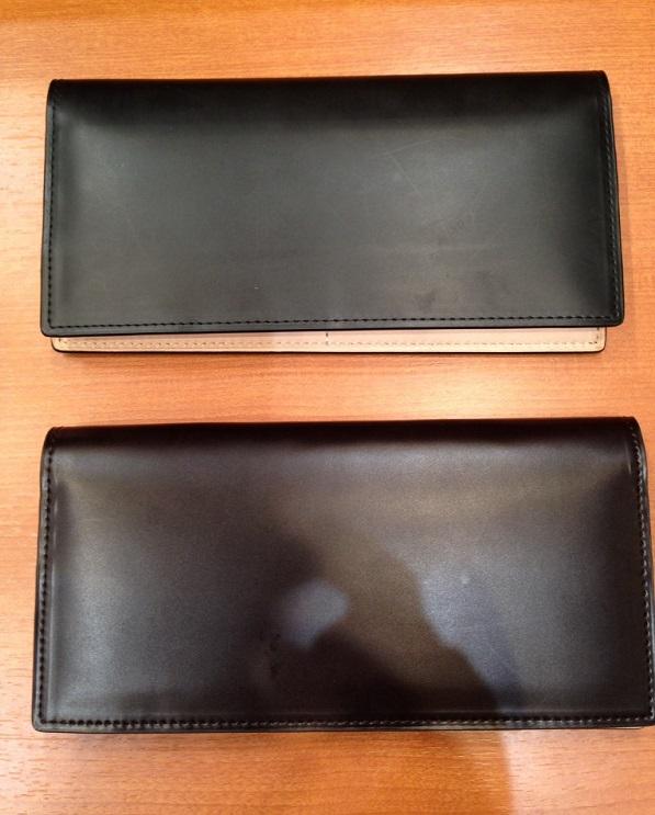 ココマイスター・コードバン 薄型長財布