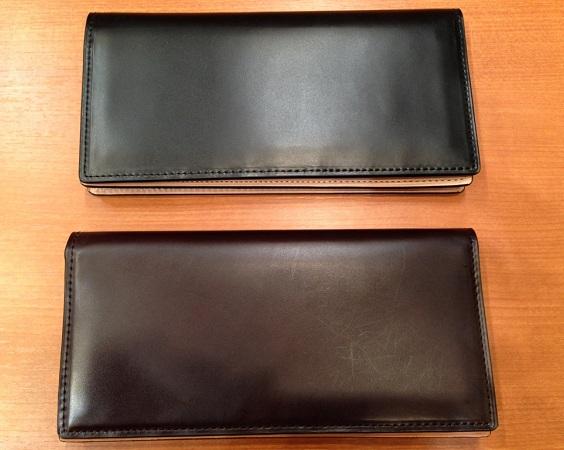 ココマイスター「コードバン長財布」