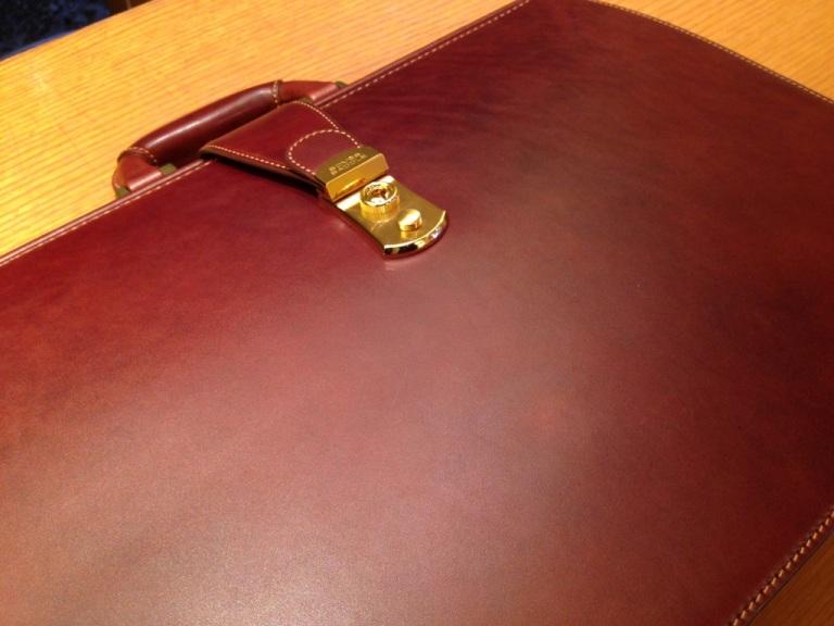 ソメスサドル(SOMES)のダレスバッグ'(ブライドルレザー)、パッサージュ