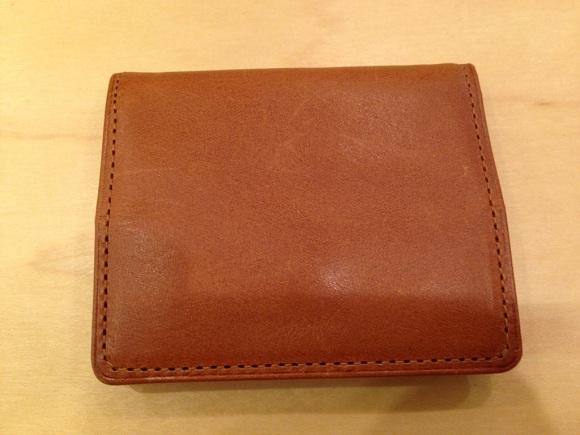 ココマイスター・パティーナ二つ折り財布(ブラウン)