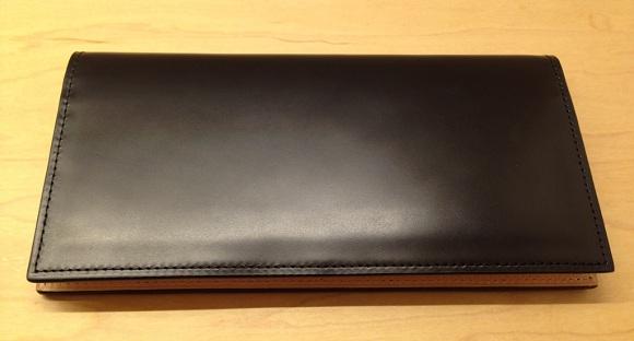 ココマイスター・コードバン薄型長財布
