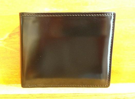 ココマイスター「コードバン 2つ折り財布」