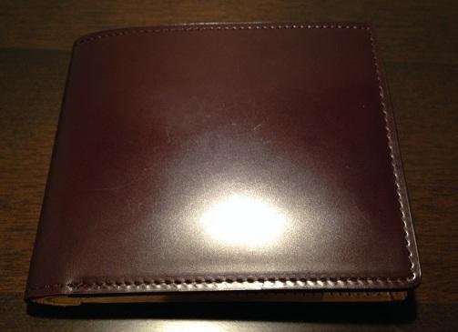 COCOMEISTER「コードバン2つ折り財布」