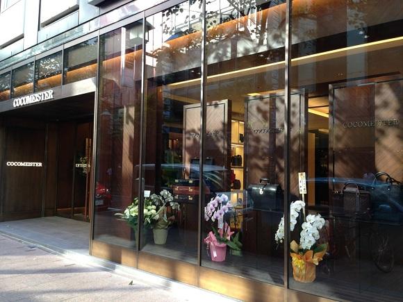 ココマイスター銀座並木通り店の外観