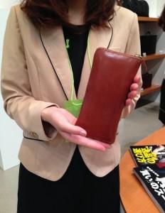 ココマイスター・社員の財布「ブライドル グランドウォレット」