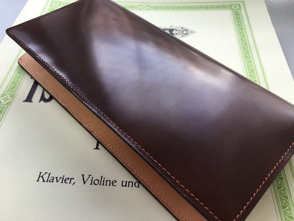 GLENCHECK(グレンチェック)のコードバン長財布