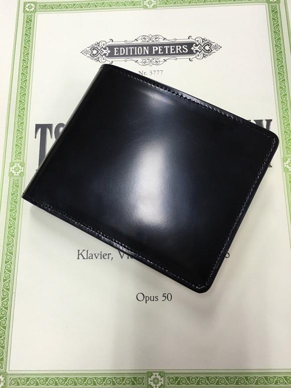 GLENCHECK(グレンチェック)コードバン FLYING HORSE 二つ折り財布