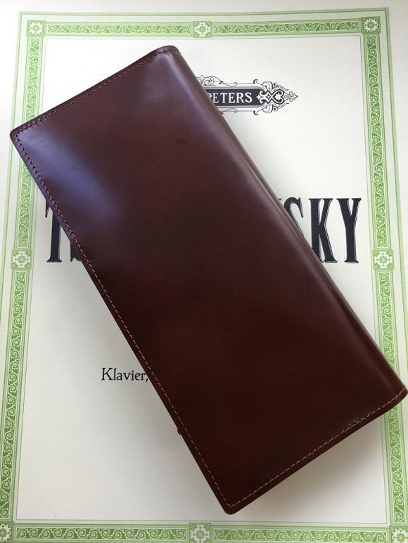 GLENCHECK(グレンチェック)コードバン長財布