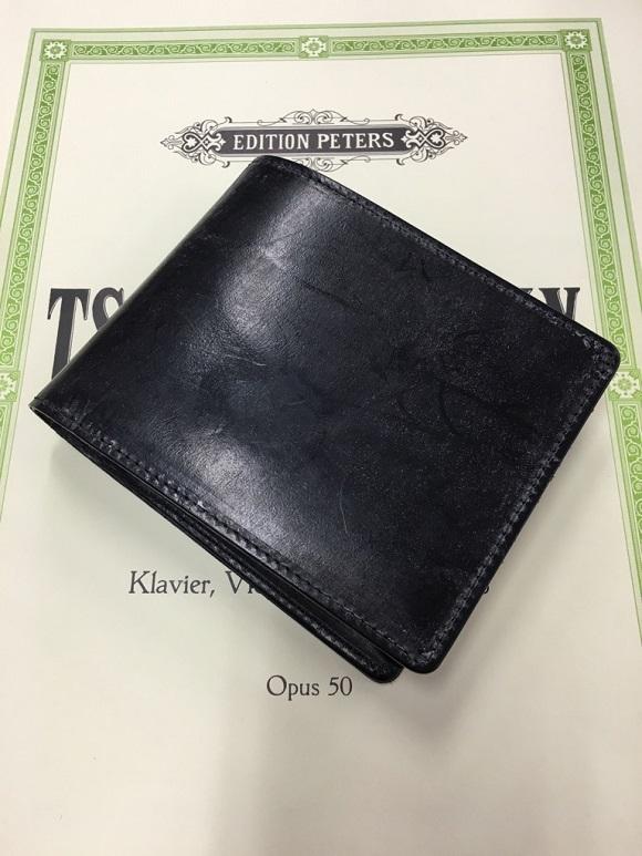 【GLEN HERITAGE】ブライドルレザー二つ折り財布
