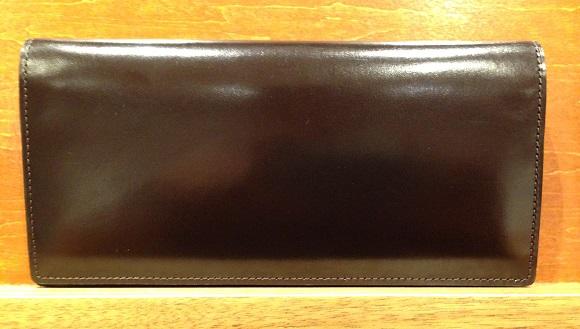 cocomeisterの長財布「ジョージブライドルバイアリーウォレット」ボルトーワイン
