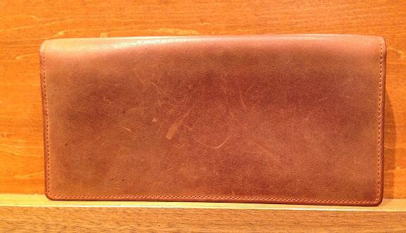 cocomeisterの長財布「ナポレオンカーフアレッジドウォレット」