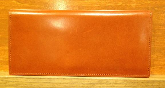 cocomeisterの長財布「ブライドルインペリアルウォレット」ヘーゼル