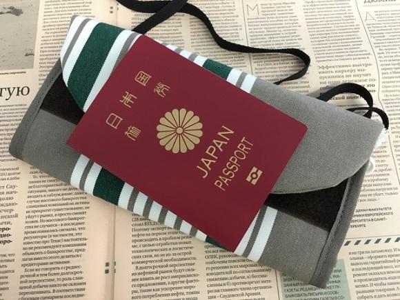 海外旅行用財布、トラベルオーガナイザーとパスポート