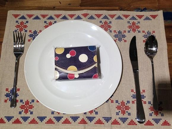 クアトロガッツ・伊達政宗愛用の紫地羅背板五色乱星