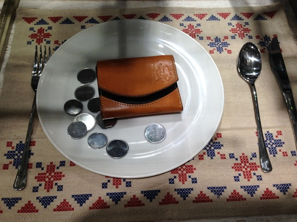 クアトロガッツの小さいふ(財布)