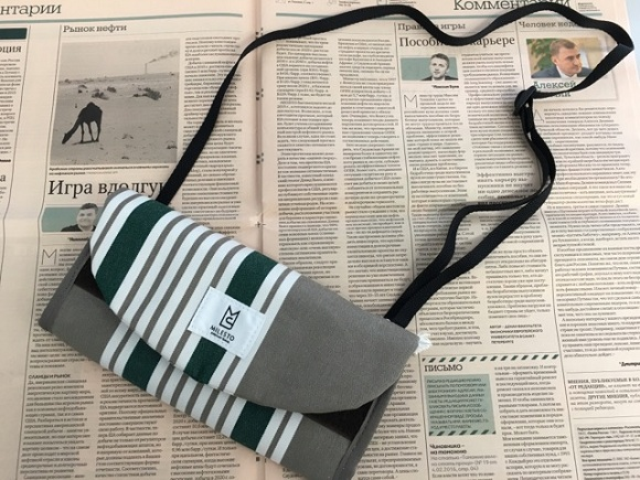 海外旅行用財布、トラベルオーガナイザーの肩ひも