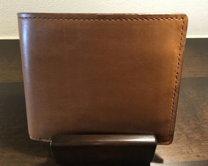 オークバークバットクーム(ココマイスターの二つ折り財布)