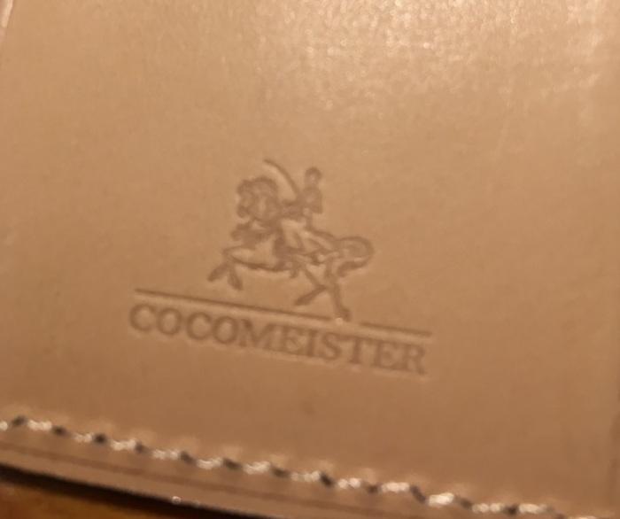 ココマイスターのキーケース・ブライドルキーケースのロゴ