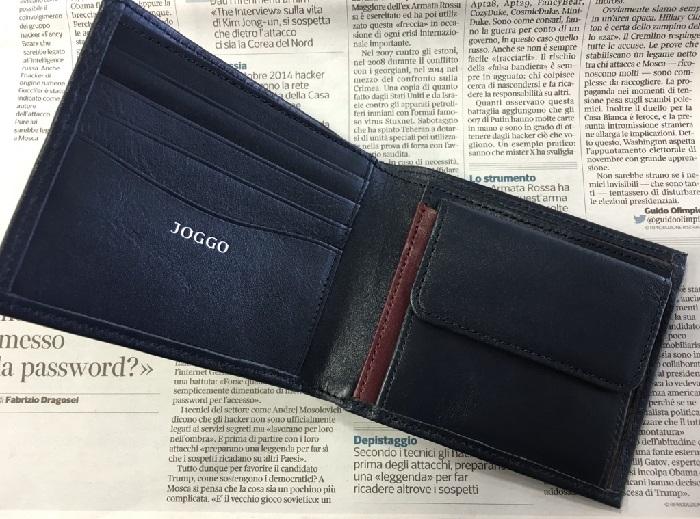 JOGGO・二つ折り財布の内装