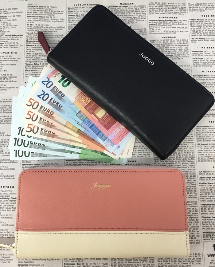 JOGGOのメンズラウンドファスナー財布とレディースラウンドファスナー財布