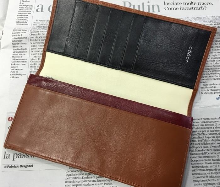 JOGGOの本格長財布の内装