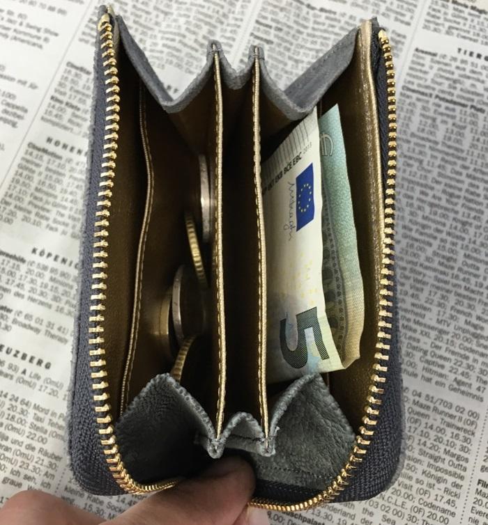 無理せず貯まる小銭入れ 夢を叶える開運の象の内装