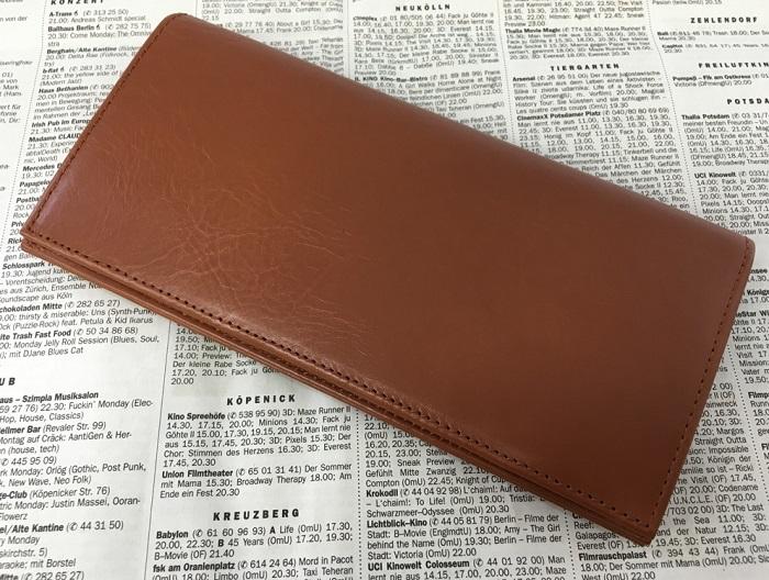 JOGGOの本革長財布