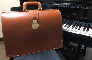 ココマイスターのダレスバッグ