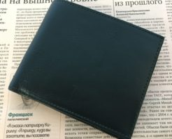 Business Leather Factoryの二つ折り財布