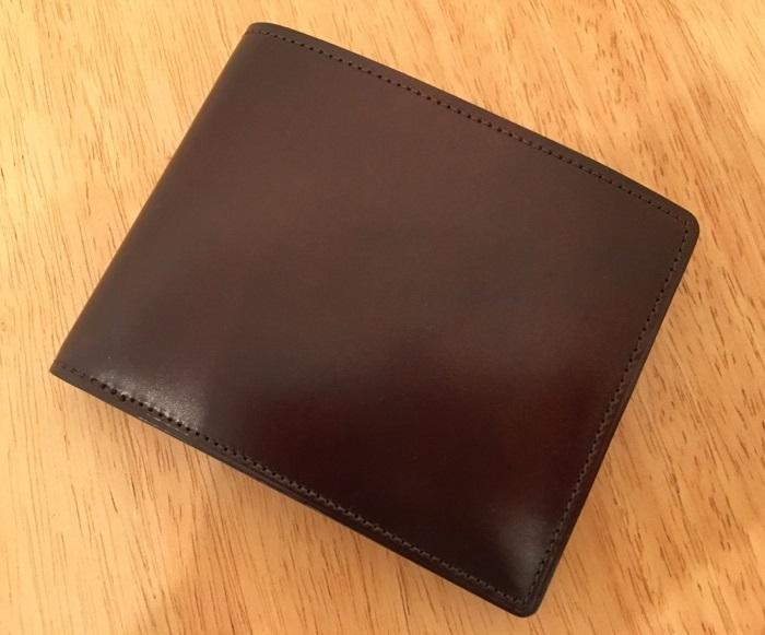 マイスターコードバンラスティング・ココマイスターの二つ折り財布・ココマイスターの二つ折り財布