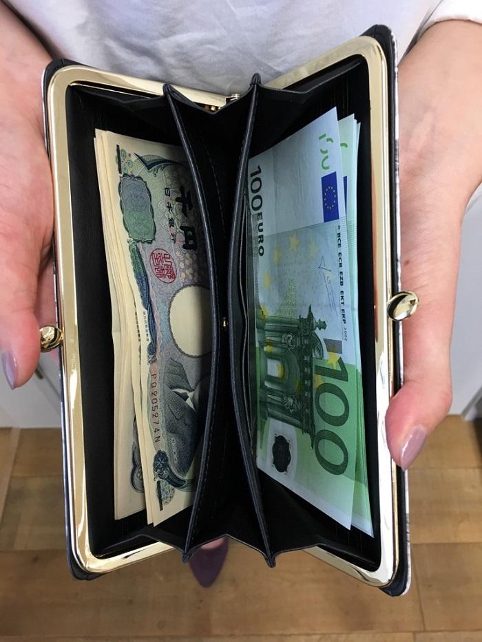 AETHER(エーテル)の財布・がま口長財布 ノワール・アネット