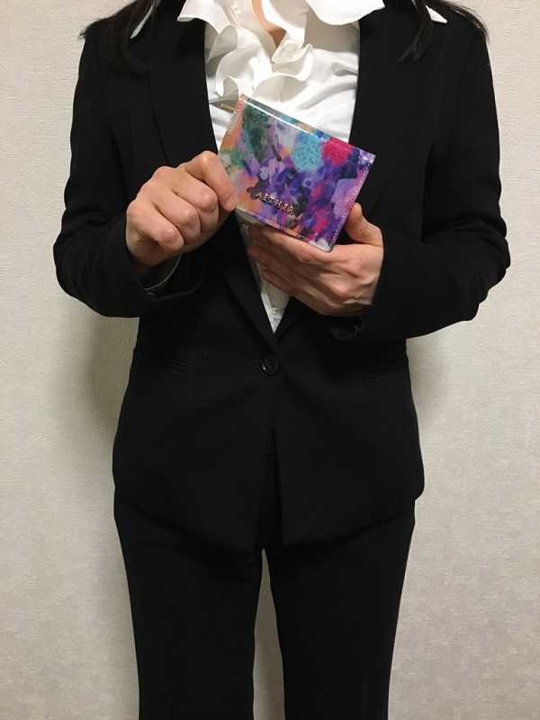 エーテル・AETHERのミニ財布