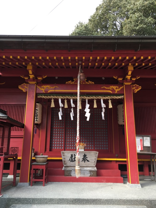 宮地嶽神社・奥之宮八社、二番社・稲荷神社