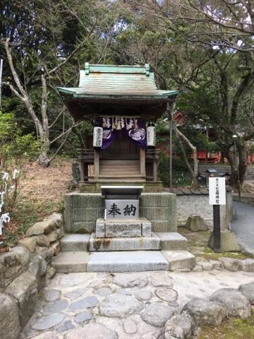 宮地嶽神社・奥之宮八社、一番社・七福神社 …福を運ぶ七福神