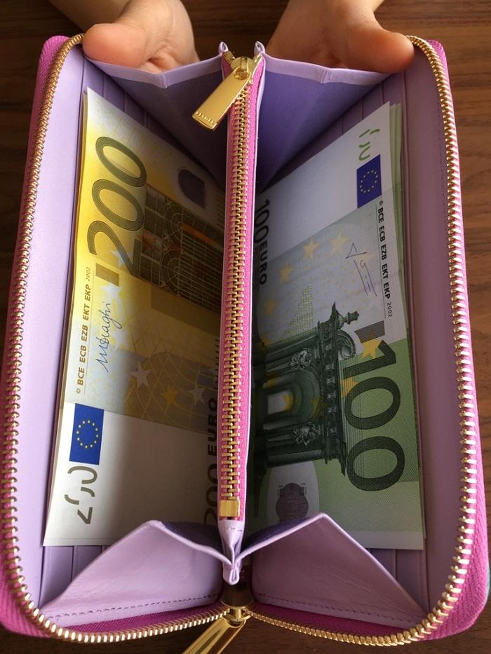 エーテル・AETHERの財布、パンセ・ブーケの札入れ