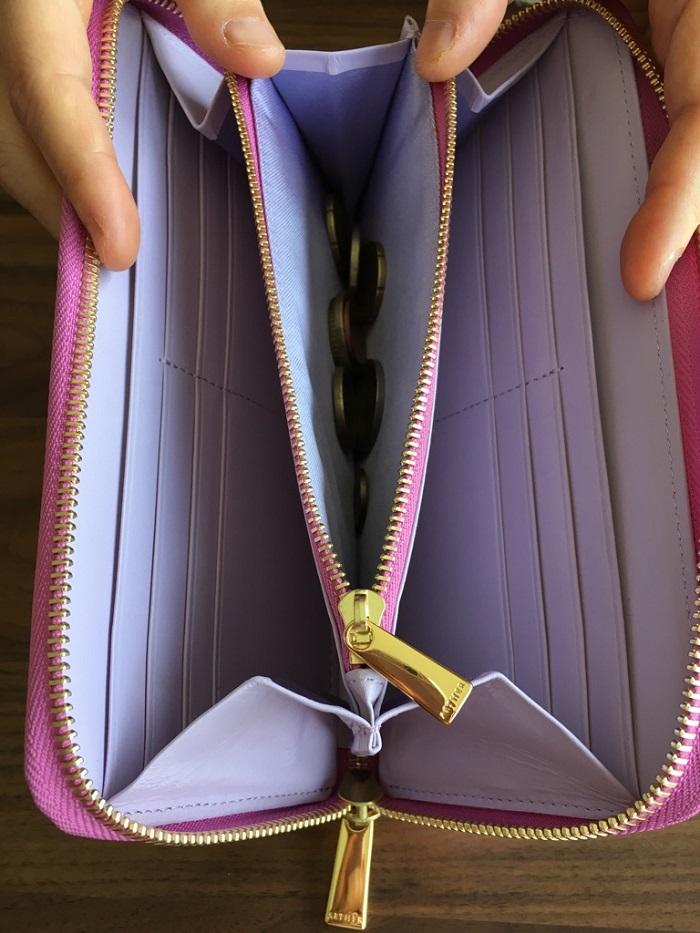エーテル・AETHERの財布、パンセ・ブーケの小銭入れ