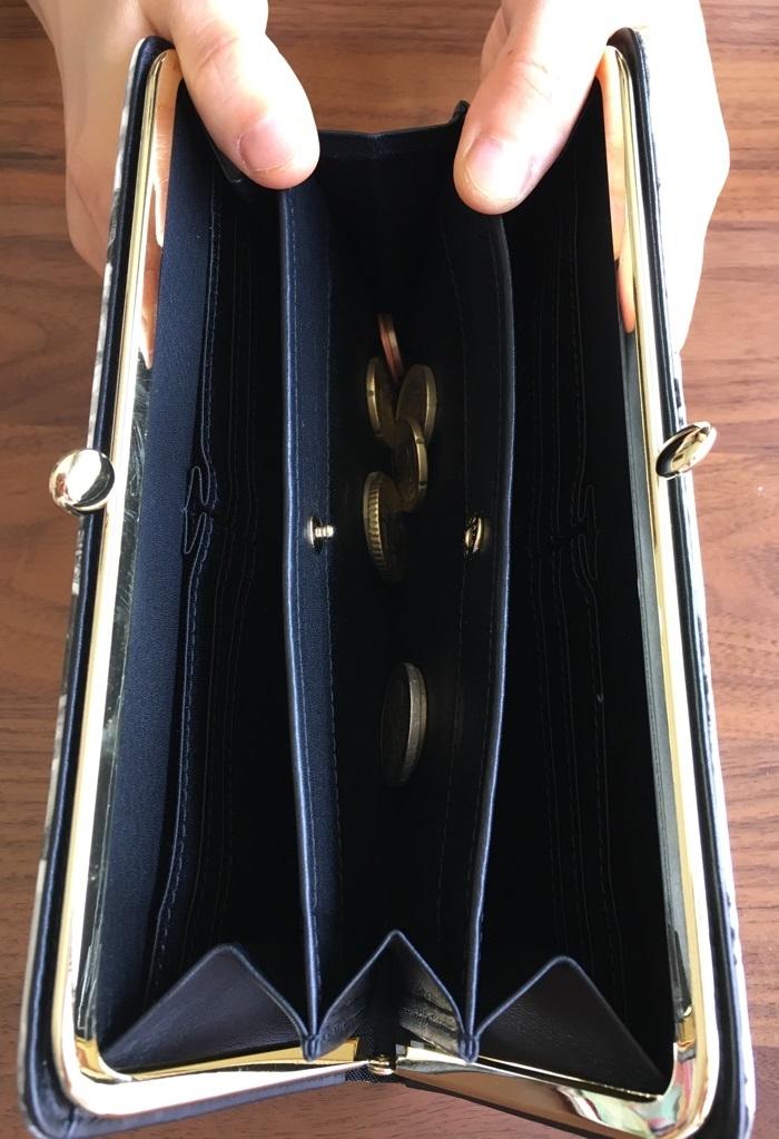 エーテル・AETHERの財布、ノワール・アネットの小銭入れ