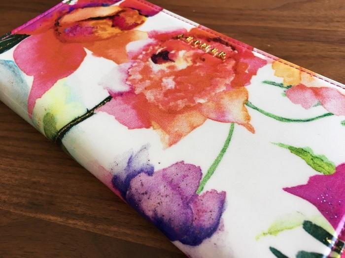 エーテル・AETHERの財布、ピヴォワンヌシリーズの花柄