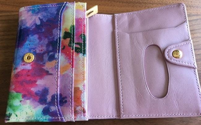 エーテル・AETHERの財布、フルール・ジュールの内装