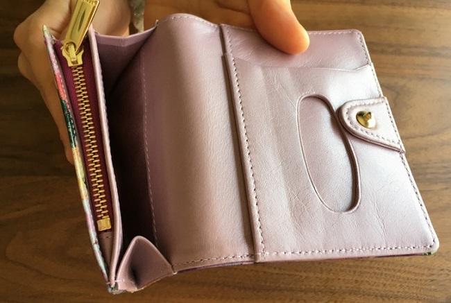 エーテル・AETHERの財布、フルール・ジュールのフリーポケット