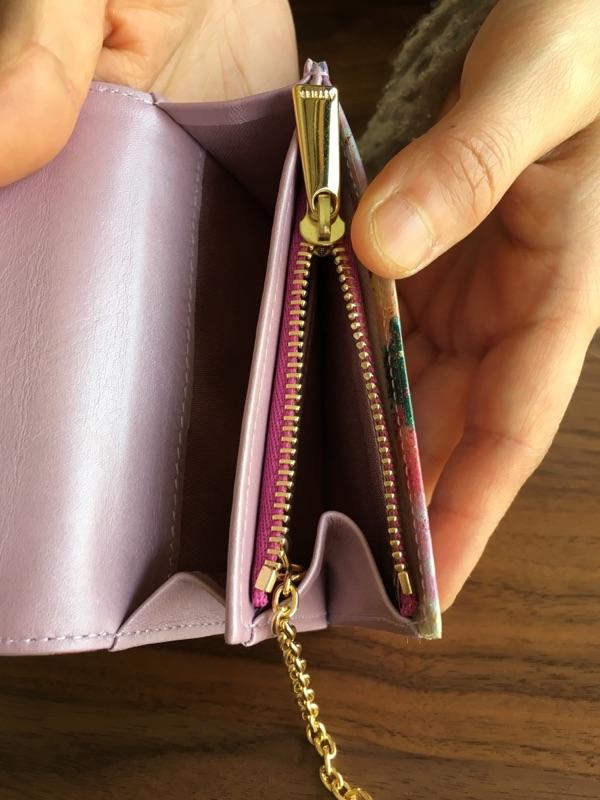 エーテル・AETHERの財布、フルール・ジュールの小銭入れ
