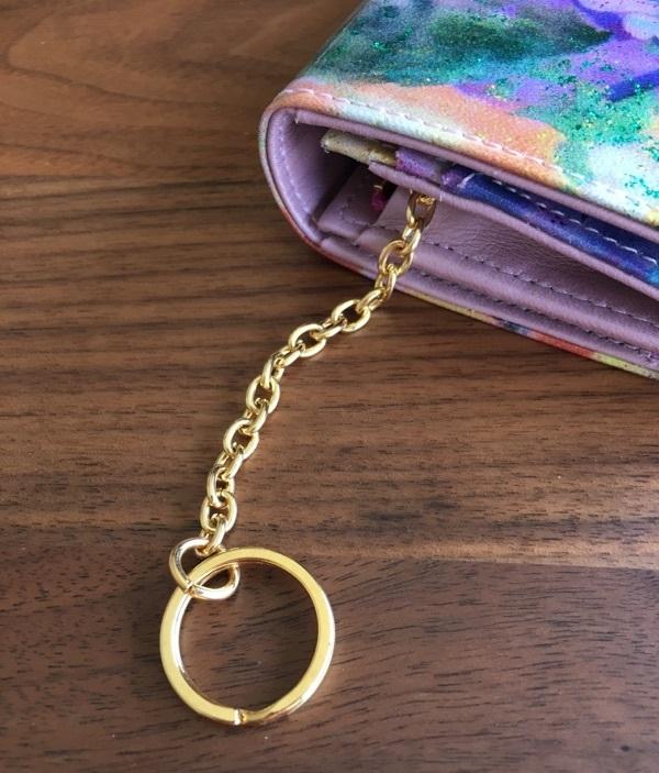 エーテル・AETHERの財布、フルール・ジュールのキーリング