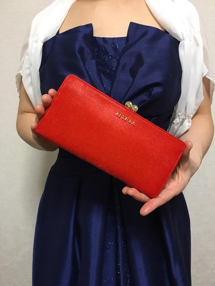 エーテル・AETHERの財布、ルージュ・アネット