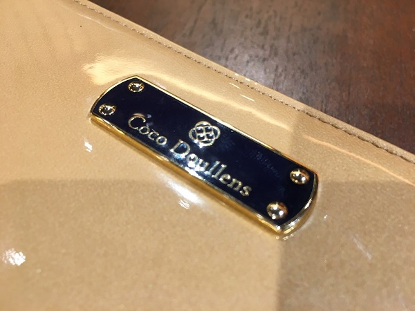 ココマイスターのレディース財布「ココデュラン」フローズンアレフランス〈ショコラベージュ)