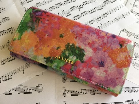 エーテル・AETHERの財布、フルール・ジャルダン